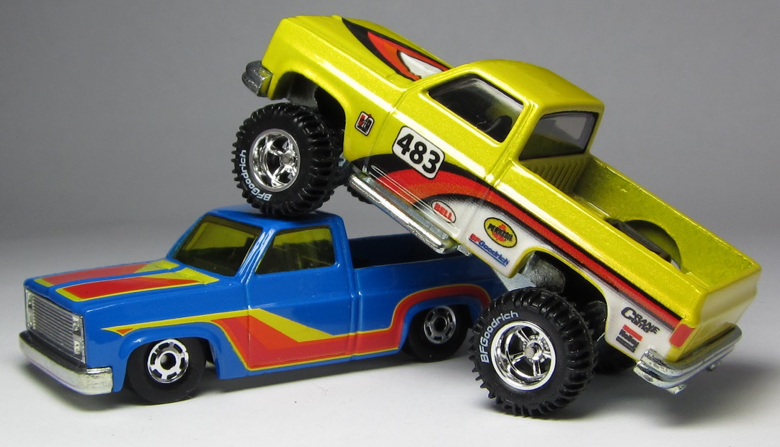 DLMer's view of the new version of the Hot Wheels '83 Silverado… – the Lamley Group