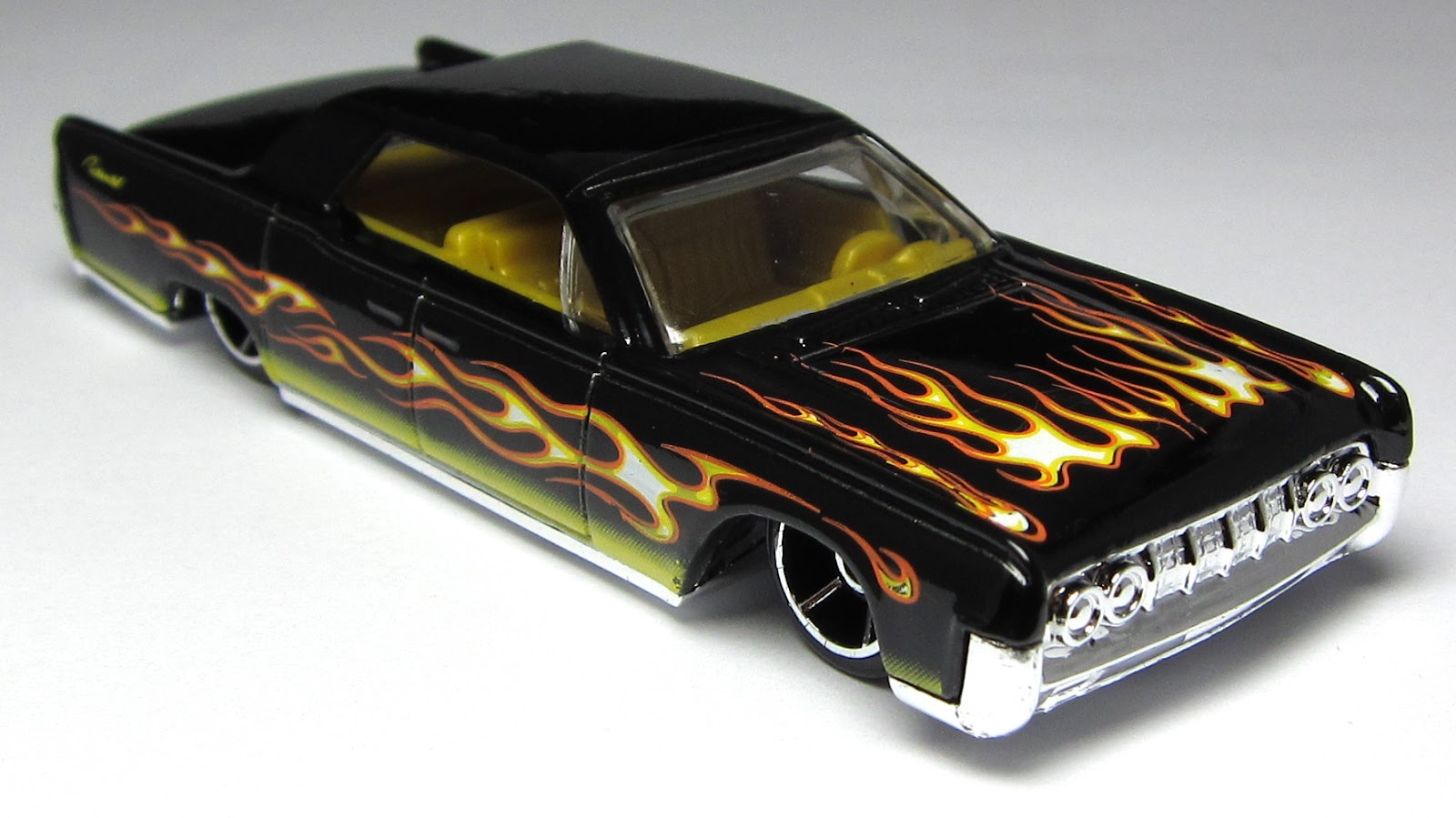 first look hot wheels super speeders 64 lincoln. Black Bedroom Furniture Sets. Home Design Ideas