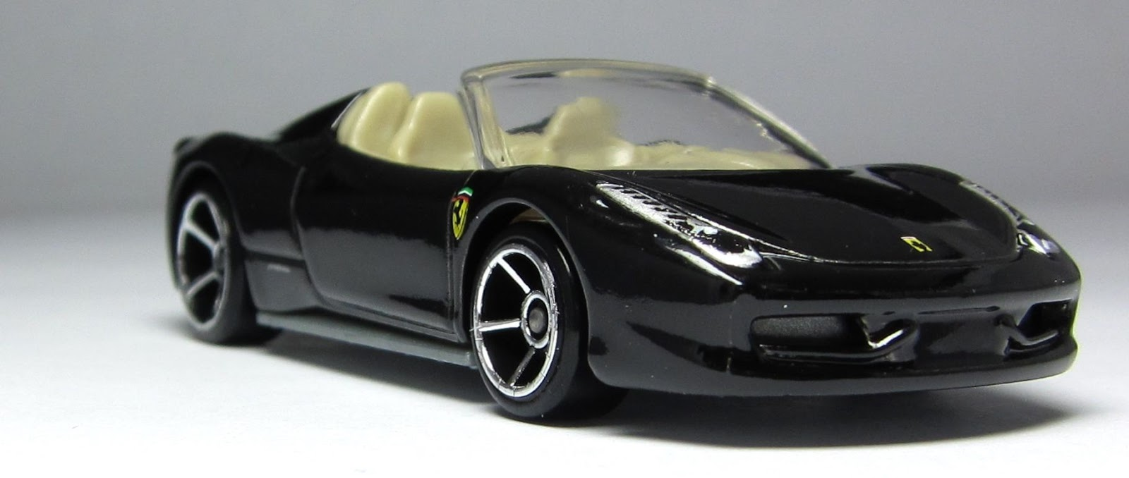 Making sense of the 2013 ferrari 458 spider variations the but it comes right on the heels of the 2012 yellow version so it was not a surprise to see a handful of black versions sporting the yellows black interior vanachro Choice Image