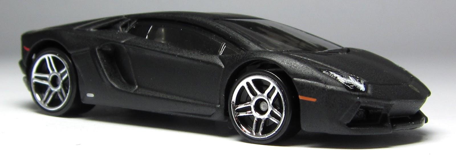 First Look: 2013 Hot Wheels Lamborghini Aventador in black ...