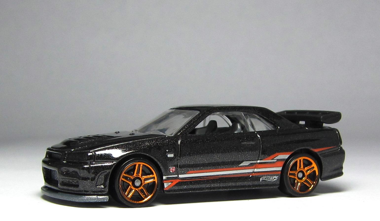 model of the day  hot wheels nissan skyline r34 in black u2026  u2013 thelamleygroup