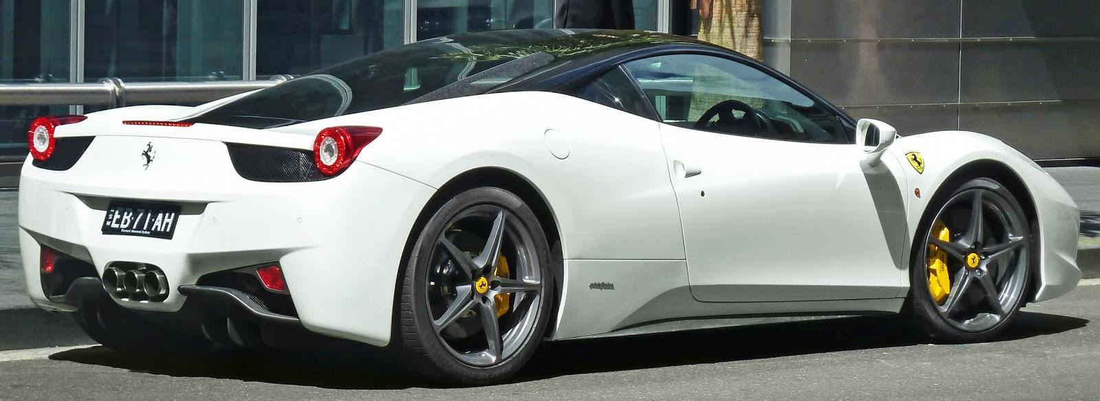 Model of the Day: OEM Ferrari 458 Italia GT2 in black and ...