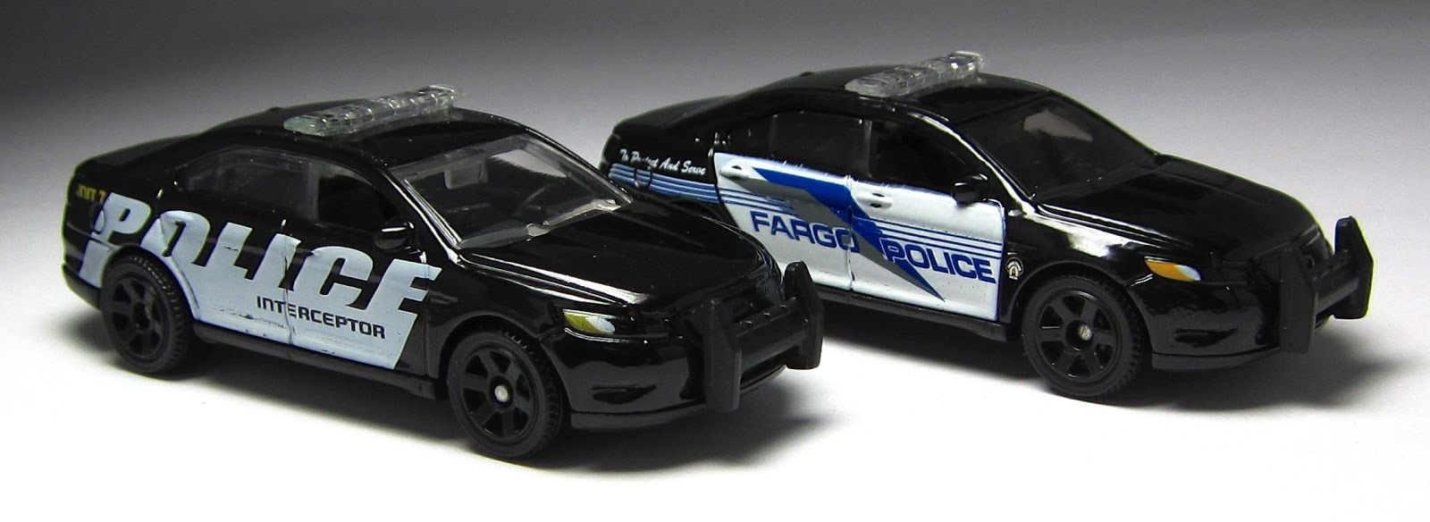 2014 Matchbox Heroic Rescue Ford Police Interceptor Dark ...