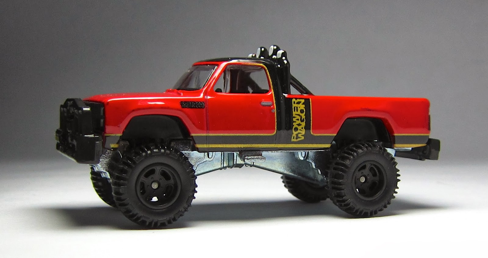 First Look Hot Wheels Retro Entertainment 1980 Dodge Macho Power Pickup Truck Wagon 2014 Simon