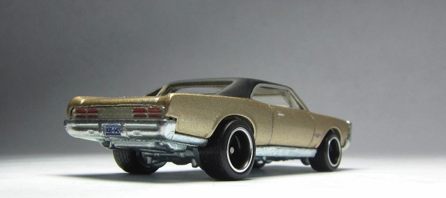 Not the hot wheels 67 pontiac gto convertible will