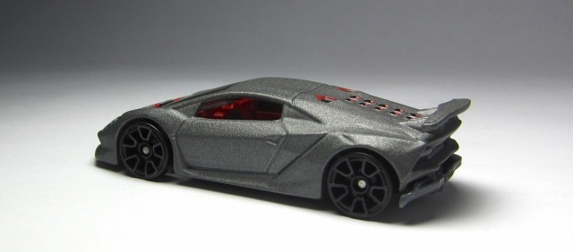 First Look Hot Wheels Lamborghini Sesto Elemento in gunmetal gray