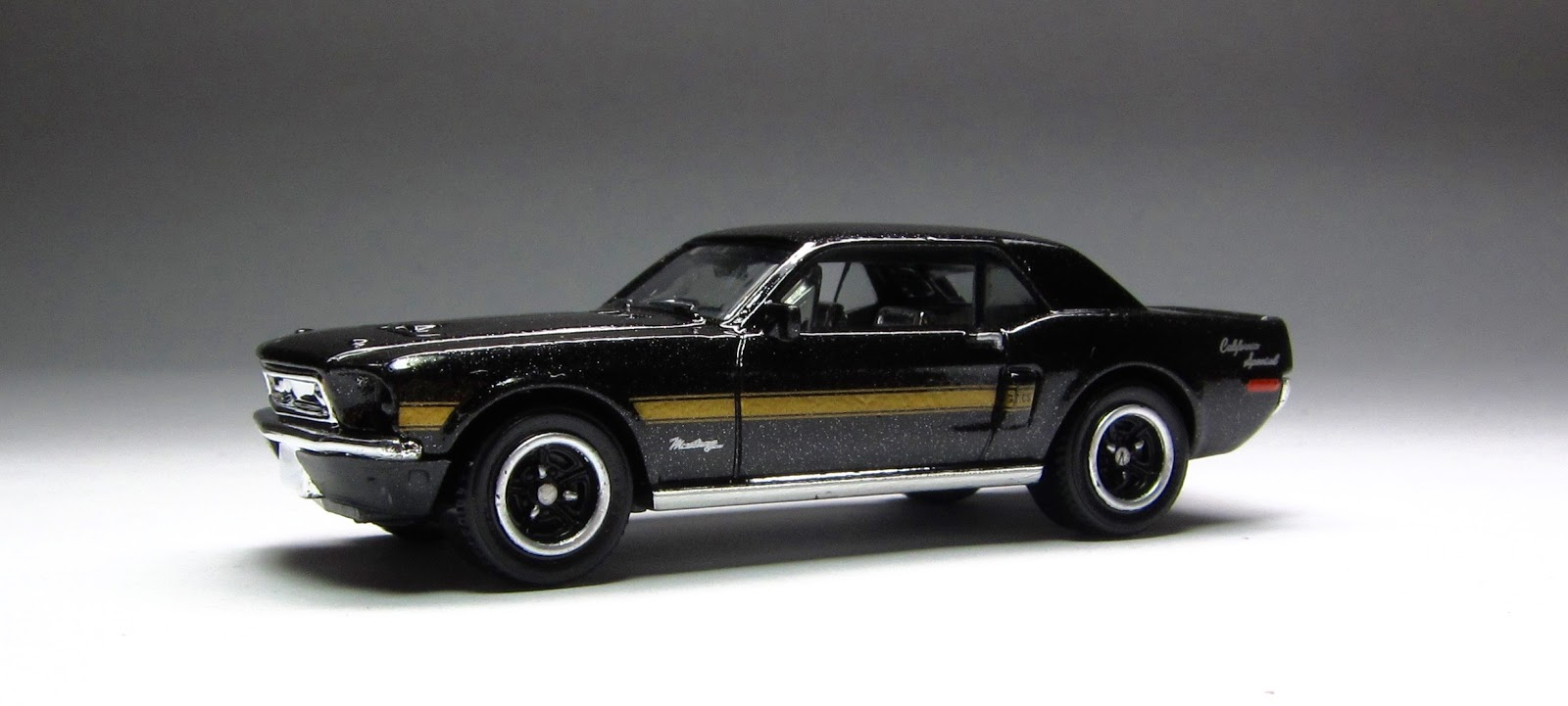 First Look 2015 Matchbox 68 Ford Mustang Gt Cs In Black California Special