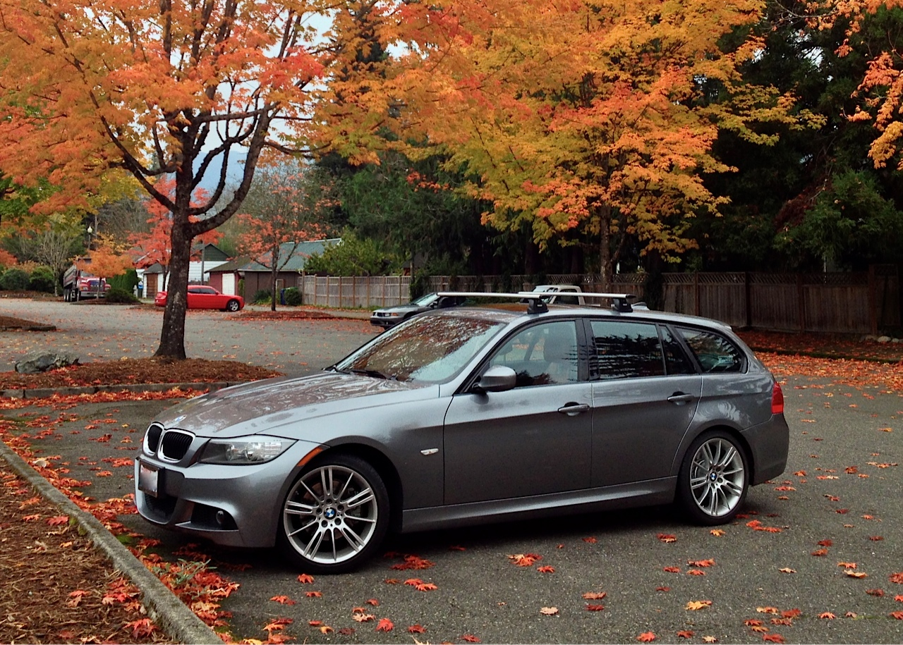 Bmw 3 Series Wagon Plete With Roof Rack