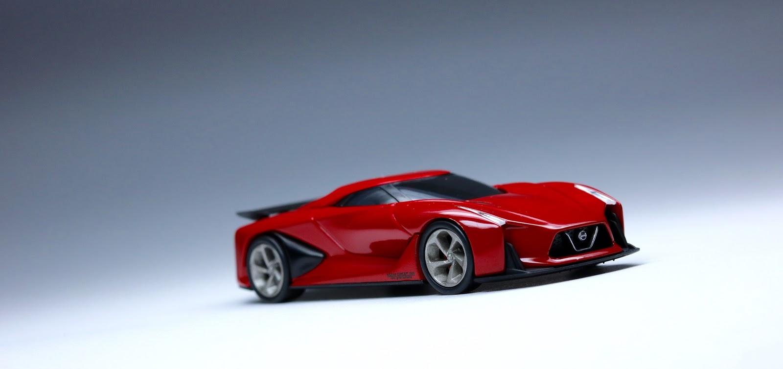 The Nissan Concept 2020 Vision Gran Turismo: Tomica ...