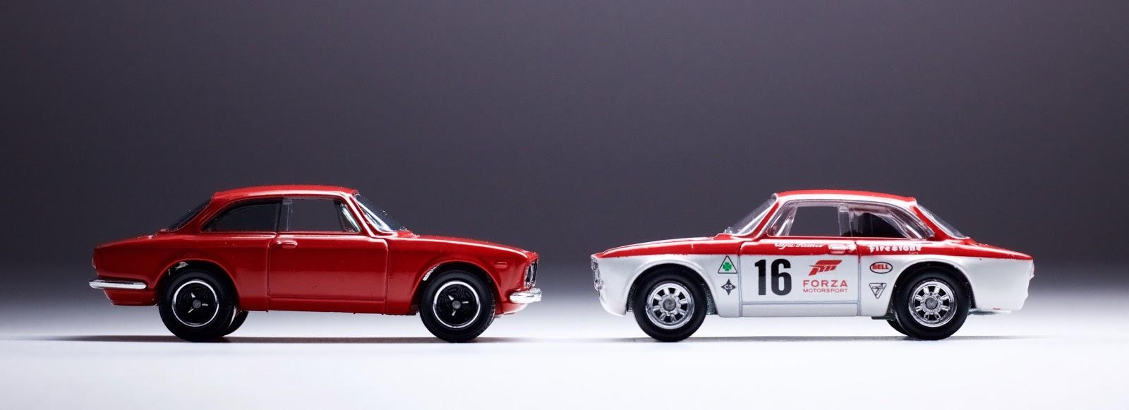 Hot Wheels Forza, Part 1: The Alfa Romeo Giulia Sprint