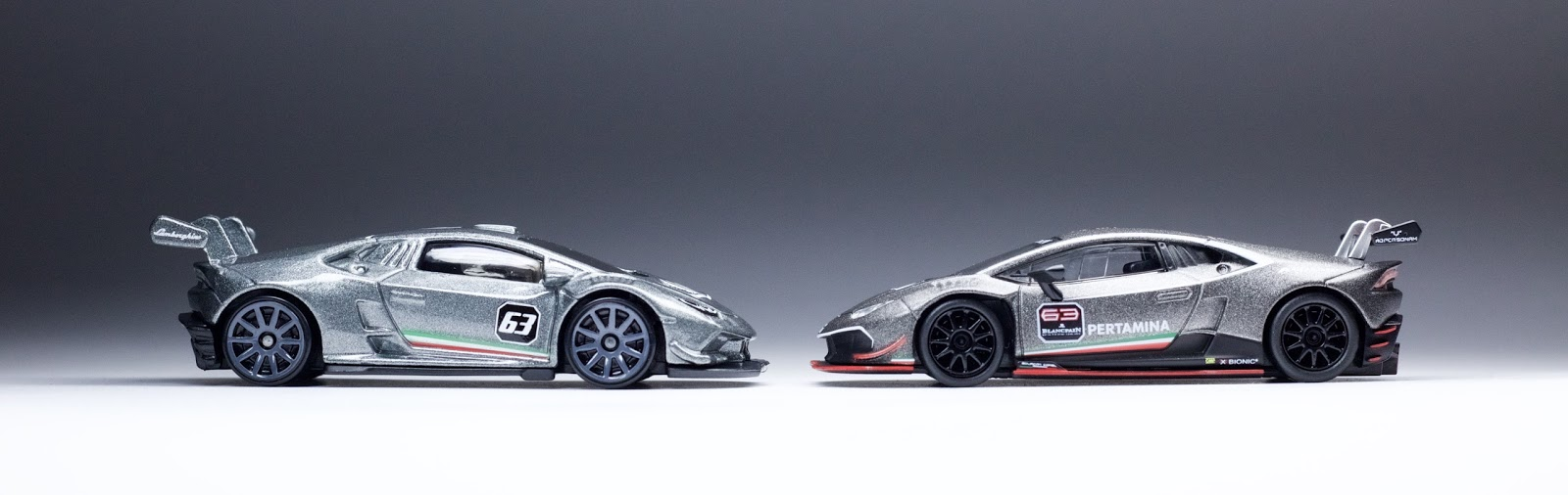 hot wheels kyosho unleash a pair of brilliant lamborghini hurac n lp 62. Black Bedroom Furniture Sets. Home Design Ideas